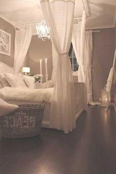 Romantic Bedroom Design, Romantic Master Bedroom, Master Bedroom Design, Cozy Bedroom, Modern Bedroom, Bedroom Ideas, Romantic Bedrooms, Contemporary Bedroom, Ikea Bedroom