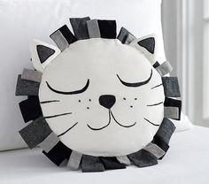 Emily & Meritt Sleepy Lion Pillow
