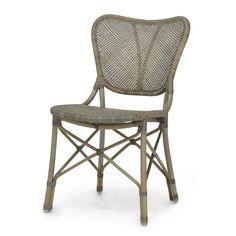 Palecek Jordan Side Chair in Grey