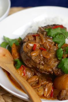 One reason why we love winter is because of this Massaman Osso Bucco.