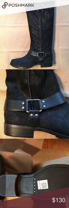 NEW Ugg Pure Distressed Black Boots Ugg boots.  Smoke free, pet free home UGG Shoes