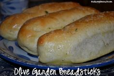 Olive Garden Copycat Breadsticks.