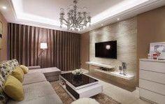 2016 modern minimalist living room decoration