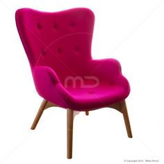Grant Featherston Chair - Cashmere - Pink - Replica - Buy Grant Featherston Contour Lounge Chair - Milan Direct