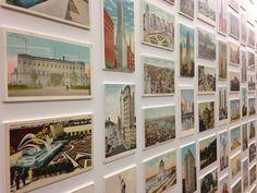 CardCow Vintage Postcard Blog: Best Postcard Display Ever - Google NYC Office