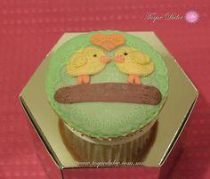 Cupcake de pollitos