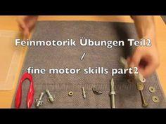 Ergotherapie Handtherapie Feinmotorik Teil 2 / fine motor skills part 2 Hand…