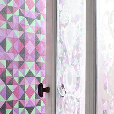 a été £ 16 Superfresco matrice Texturé Métallique Plain Heather//LILAS papier peint