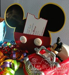 Mickey Mouse Invites.