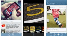 Idstagram Instagram application update Lumia WP devices - 1.3      An update is available to the popular Instagram client for Nokia Lumia WP8 smartphones - 1.3. The latest version includes minor UI fixes, you know that you can easily upgrade includes faster loading, error corrections.