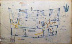 Clássicos da Arquitetura: Villa Planchart,Planos originais