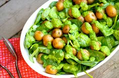 Green Goddess Potato Salad (Vegan)  - Clean Wellness