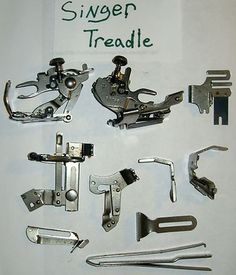 ORIGINAL SINGER TREADLE SEWING MACHINE PARTS