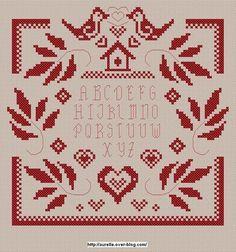 ru / Little birds from Aurelle - Mostly birds / freebies - Jozephina Cross Stitch Freebies, Cross Stitch Books, Cross Stitch Borders, Cross Stitch Samplers, Cross Stitch Flowers, Modern Cross Stitch, Cross Stitch Charts, Cross Stitch Designs, Cross Stitching