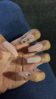 Dope Nails, Nails On Fleek, Pointy Acrylic Nails, Pro Makeup Tips, Different Types Of Nails, Nail Nail, Gel Nails, Nail Polish, Nail Candy