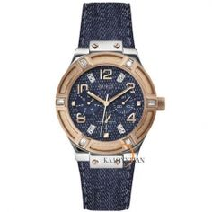 Guess Multifunction Jeans Leather Strap W0289L1