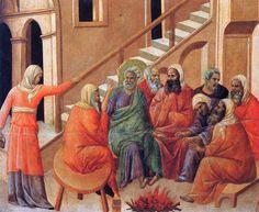 Renunciation of Peter by @artbuoninsegna #protorenaissance