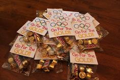 Olympics are coming...have some fun theme days centered on it...here is a fun treat idea.