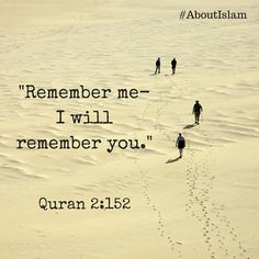Always remember Allah!
