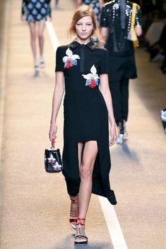 Fendi SS 2015 – Photo: By imaxtree.com for Camera Nazionale della Moda Italiana #fashion