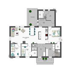 Floor Plans, Flooring, How To Plan, Architecture, House, Interior Ideas, Diy, Design, Arquitetura