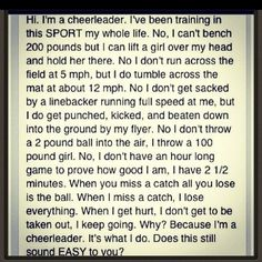 cheerleading problems   cheerleader problems .. :)   Quotes and Sayings