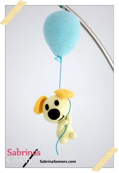Adorable Amigurumi Dog | What a cute amigurumi pattern! I need this crochet dog in my life!