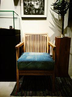 """埋め込み画像への固定リンク【WTW OSAKA】New Item!! """"Denim Chair""""http://"""
