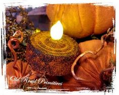 """The Simple Way to Grunge (or Rust) t-Lights, Candles and Tin Cans Tutorial"""" from ORP..."""
