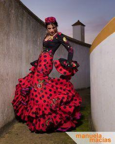 Colección 2017   Manuela Macías Moda Flamenca