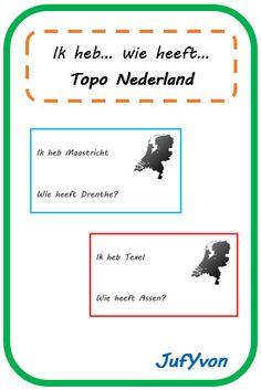 ©JufYvon: Ik heb, wie heeft...? - topo Nederland