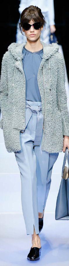 Giorgio Armani SS 18 womenswear #62 The Fashion Search
