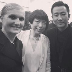 #AngelicaCheung with Dior creative director #MariaGraziaChiuri and China ambassador #HuangXuan at the Dior SS18 Couture show in Shanghai last night. #regram @angelica_cheung @dior #张宇 与Dior创意总监Maria Grazia Chiuri和中国区品牌大使#黄轩 昨晚在上海的Dior 2018春夏高定大秀秀场#DiorShanghai via VOGUE CHINA MAGAZINE official Instagram - #Beauty and #Fashion Inspiration - Beautiful #Dresses and #Shoes - Celebrities and Pop Culture - Latest Sales and Style News - Designer Handbags and Accessories - International Advertising…