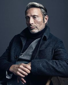 """lady-wilwarin: """" Mads Mikkelsen for the holiday issue of Alexa (x) """" #sexy #followback #passion"""