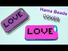 Cover Telefono con Hama Beads Phone Case with Perler Beads - YouTube