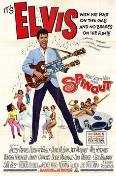 """Spinout"" (1966) Starring Elvis Presley, Shelley Fabres, Deborah Walley, Diane McBain, Jack Mullaney"