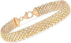 Shop a great selection of Ross-Simons Italian Yellow Gold Multi-Row Bismark-Link Bracelet. Find new offer and Similar products for Ross-Simons Italian Yellow Gold Multi-Row Bismark-Link Bracelet. Beach Bracelets, Link Bracelets, Handmade Bracelets, White Topaz Rings, Blue Topaz Ring, Trio Wedding Sets, Green Emerald Ring, Diamond Pendant, Fashion Rings