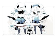 [CLOSED] ADOPT AUCTION 230 - RARE Twins Blind Lace by Piffi-adoptables on DeviantArt