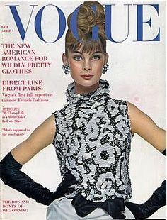 Jean Shrimpton vogue cover