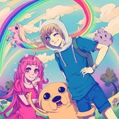 fan art adventure time | Adventure Time by ~Accelerin on deviantART