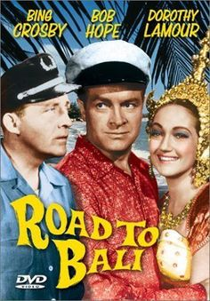After Road to Bali -- starring Bob Hope, Bing Crosby and Dorothy Lamore in a wet sarong -- hit the big screen, the world's mammary voyeurs were positively panting. Description from balifilm.com. I searched for this on bing.com/images