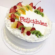 Kiwi Cake, Fruit Cakes, Strawberry Kiwi, Apple Filling, Pineapple Cake, Sweet Cakes, Cream Cake, Whipped Cream, Deli