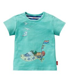 Love this Blue Motorboat Clog Tee - Infant, Toddler & Girls by Oilily on #zulily! #zulilyfinds