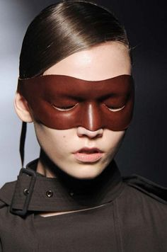 Guess how to open your eyes! Killer cowboy leather accessorie