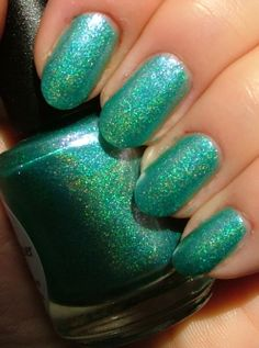 Lilypad Lacquer Weird Cyance - Facebook Group Lilypad Lacqueristas custom polish (bought Oct/Nov 2013)