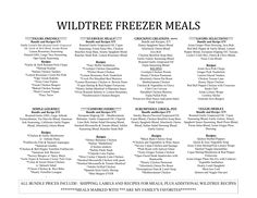 Wildtree Freezer Meals,Thaw, Cook, Eat!!  Contact me to schedule your Workshop and earn your Product for free:  www.mywildtree.com/lausser