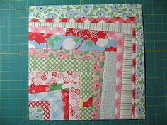 Log Cabins with a twist - Quilting Tutorial from ConnectingThreads.com Wonky Log Cabin Block Tutorials