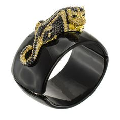 Leopard Cuff, $338, now featured on Fab. by CZ by Kenneth Jay Lane !!