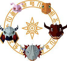 Digimon: Crest of Courage by Sindor