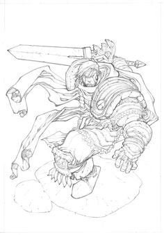 Garen - League of Legends by ~mikebowden on deviantART